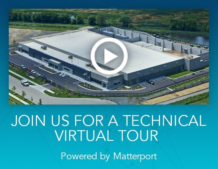 Join us for a technical virtual tour of the Minneapolis I Data Center