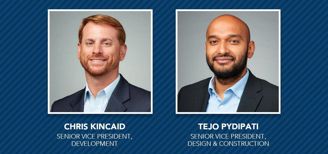Stream Expands Development and Construction Leadership Team